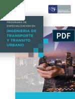 Ingenieria de Transporte y Transito Urbano