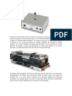 Generador de Vibraciones Para La Excitación Mecánica de Oscilaciones y Ondas p
