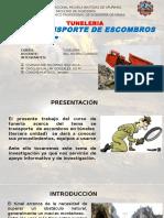 TUNELES-CARGUIO DE ESCOMBROS.pptx