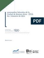 Ir_2017_1120 Indicadores Laborales de La Ciudad de Buenos Aires 4 Trimestre 2016