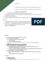 NCERT Economy Summary