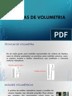 Aula 5 - Técnicas de Volumetria