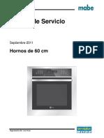 18. Manual de Servicio Horno Desfogue Frontal 60 Cm Septiembre 2011