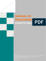 2.Manual de Procedimientos Diabetes