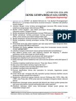 Latihan2 - Pra UTS T Gempa - Genab 14-15 - Update 23 Maret 2015