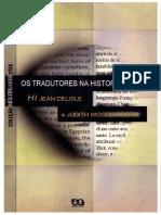 Os tradutores na história