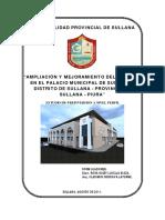 Palacio Municipal Sullana