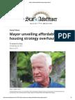 Mayor Unveiling Affordable-housing Strategy Overhaul - 05-24-2017