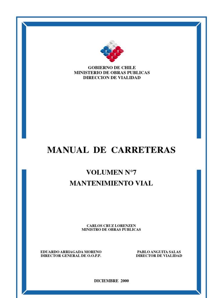 MC Vol7 Mantenimiento Vial