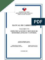 MC_Vol8_Especificaciones y Metodos de Muestreo, Ensaye y Control