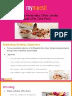 marketing plan mymuesli