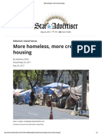 More Homeless, More Creative Housing