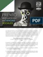 Noveno Premio Iberoamericano en Ciencias Sociales