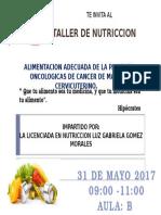 Invitacion CA Mujer
