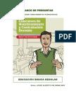 Banco de Preguntas Concurso Docente 2017 Ccesa007