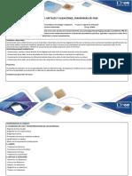 Guia de Actividades y Rubrica Evaluación. Unidad 2 Paso 5 - Trabajo colaborativo 2