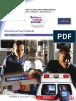 Ambulance Fee Schedule