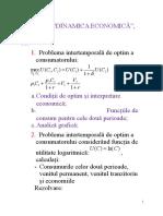 Dinamica sistemelor economice-subiecte 2017