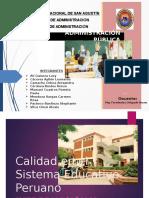 Calidad en el Sistema Educativo - Trabajo Final 4-D.pptx