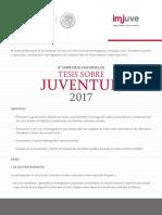 8° Concurso Nacional de Tesis sobre Juventud 2017