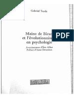 [BW]Devarieux, Préface a Maine de Biran et l'évoutionnisme.pdf