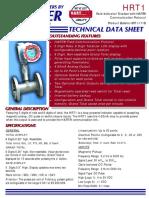 Hart Turbine Flowmeter