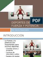 deportes de fuerza y potencia