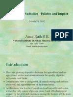Amar_Nath_NIPFP_Subsidies_Presentation.ppt