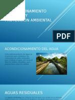 Acondicionamiento Del Agua y Protección Ambiental