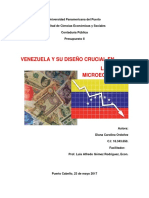 Venezuela y su diseño crucial en la micro-economía