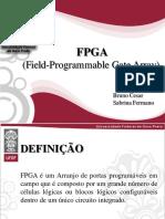 Seminário FPGA  - Apresentação