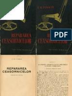 Repararea Ceasornicelor - PINKIN - 1958