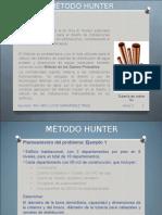 Metodo Hunter Ejercicio 1 Alumnos