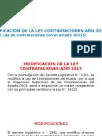 Cambios a La Ley 30225
