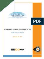 Secova-North Carolina DEVA - Project Analysis