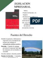 Fuentes de Derecho y Empresa