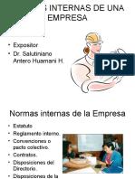 Normas Internas de Empresa