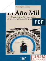 El Ano Mil - Georges Duby