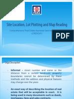 Site Location, Lot Plotting & Map Reading