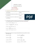 Tarea #1 - Funciones de Variable Real