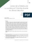Martínez y Murillo-Concepciones de la didáctica de la literatura en Colombia (Rev. Grafía, 2013) citan terror.pdf