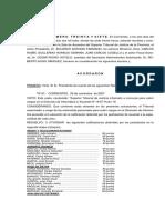 Acordada Nº 37-2007 Sumarios
