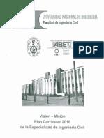 Plan Curricular 2016 Ingeniería Civil UNI