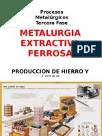 METALURGIA EXTRACTIVA FERROSA