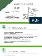 SPT Y CPT y Veleta de Campo