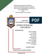Fallas Estructuras de Concreto