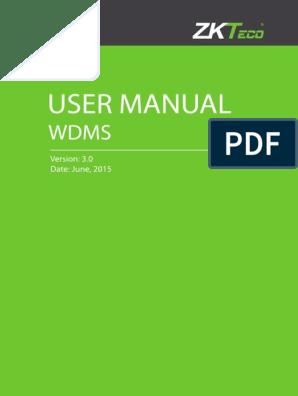 WDMS User Manual V3 0 | Installation (Computer Programs