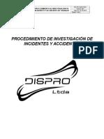 18 ANEXO.  PROCEDIMIENTO DE INVESTIGACIÓN DE INCIDENTES Y ACCIDENTES  DISPRO.docx