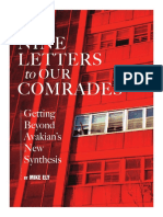 MIKE ELY. NINE LETTERS to OUR COMRADES.Getting Beyond Avakian's New Synthesis.USA, Mikeely.wordpress, 2007