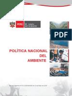 Política Nacional Del Ambienteeeeeeeee